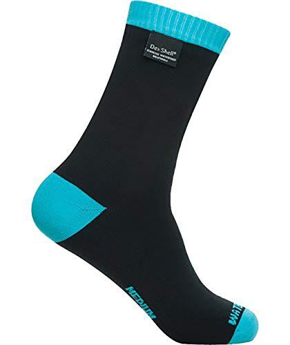 Dexshell Coolvent Lite Chaussettes imperméables pour homme Bleu aqua Taille XL