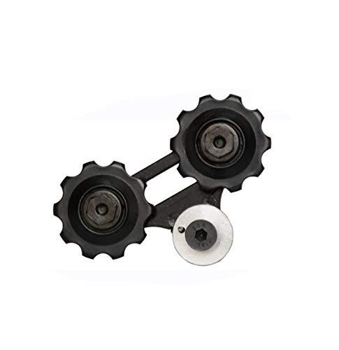 SPEDWHEL Recambios de suspensión trasera rueda guía para bicicleta eléctrica Xiaomi QiCYCLE...