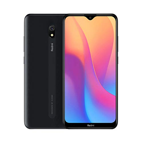 Xiaomi Redmi 8A Telefon 2 GB RAM + 32 GB ROM, 6,22 Zoll Punktfall-Display, Octa-Core Prozessor, Frontkameras 8 MP und 12 MP Global Version
