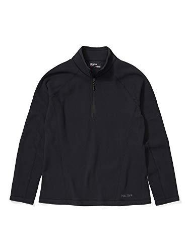 Marmot Rocklin 1/2 Zip Jacke, Damen, Rocklin 1/2 Zip Jacket, schwarz, Large