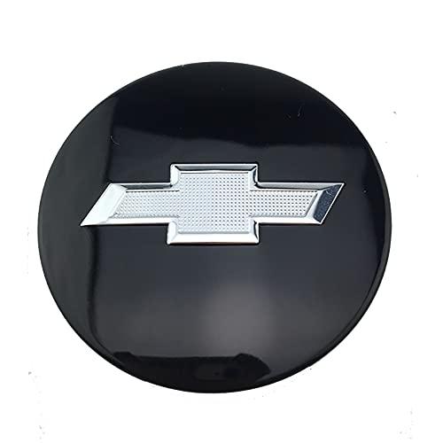 LSQJNDM para Chevrolet-Camaro 68mm Logo del Coche Cubierta De La Llanta Central ModificacióN DecoracióN Creativa