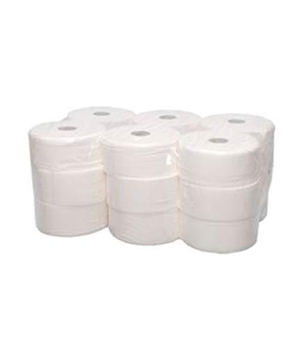Papel Higiénico Industrial | Pack de 18 Uds. Papel higienico desechable y biodegadable.