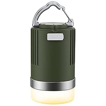 EMNT Lanterne Camping LED, 15000mAh Lampes Rechargeable avec 4 Modes d'Éclairage, Alimentation de Secours, IP66 Lumières pour Tente, Camping, Pêche, Randonnée