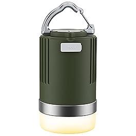 EMNT Lanterne Camping LED, 15000mAh Lampes Rechargeable avec 4 Modes d'Éclairage, Alimentation de Secours, IP66 Lumières…