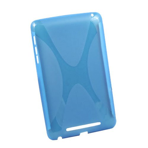 Generic X Design - Carcasa de TPU para tablet Google Nexus 7, color azul