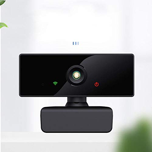 USB Webcam 1080P HD Lens, USB 30 Frame Rate, Web Camera, with WIFI, for Computer Office Live Conference Camera HD Free Drive