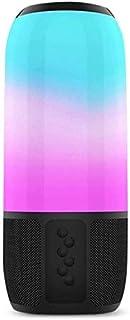 WHSS TWS Bluetooth 5.0 Haut-Parleur sans Fil Intelligent RGB Lumière IPX6 Salut FI étanche Son Temps 8h Durée Haut-Parleur...