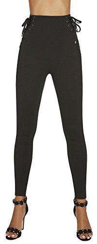 elegante Shape-Leggings * formend modellierend schlankmachend * Gr. S M L XL XXL Schlankmacher Leggins Damenhose (Sansa Gr. L)