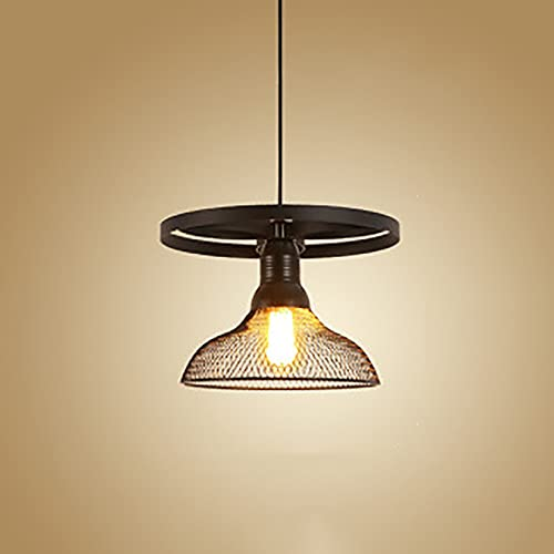 GUOGUOSM E27 Luces Colgantes De Estilo Industrial Nórdico Iluminación Colgante De Restaurante para Isla De Cocina Personalidad Creativa Bar Araña De Techo Araña Retro Lámparas Colgantes