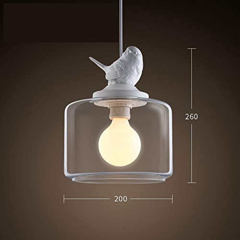 Scofeifei Lustre Moderne en Verre Industriel alluhommet Le Lustre de plafonnier de LED pour des Enfants