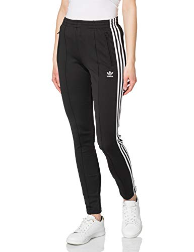 adidas Womens SST Pants PB, Black/White, 40