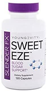 Blood Sugar and Weight Loss Support - Sweet EZE Slender FX - 120 CAPS