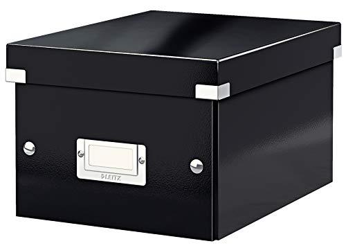 Leitz,60430095, Leitz Aufbewahrungsbox Click & Store WOW Klein, Schwarz, Klein, Schwarz