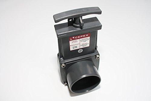 Osaga PVC Zugschieber Cepex 63mm Durchmesser