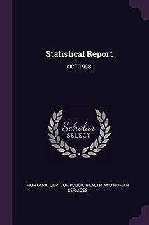 Statistical Report: Oct 1998