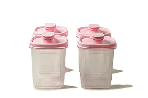 TUPPERWARE Slim Line Jarra 350 ml Botella rosa (4) 37751
