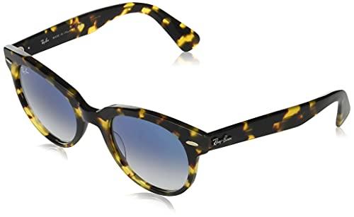 Ray-Ban Gafas de Sol ORION RB 2199 Yellow Havana/Blue Shaded 52/22/145 unisex