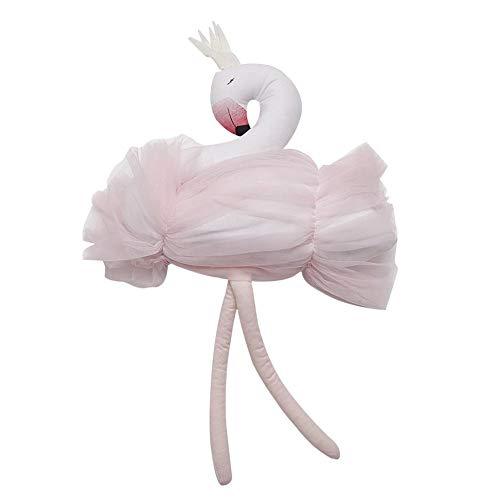 Cigno peluche del giocattolo del bambino farcito Peluche cigno rosa per il regalo del cigno della peluche del giocattolo della ragazza della neonata