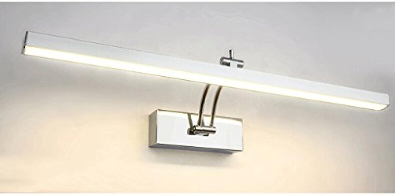PRIDE S Spiegel Make-up-Leuchten wasserdichte Nebel LED-Leuchten Energie-Effizienzklasse A + (farbe   Warmwei-41cm)