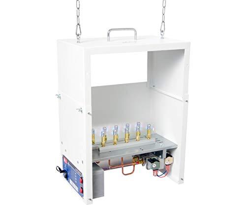 AutoPilot APGP1000 CO2, 10 Burner, LP Generator, White