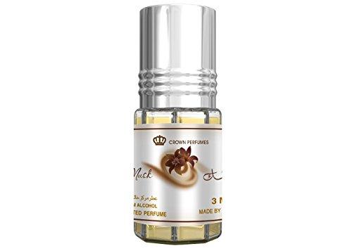 Prime Echt Attar Öl Parfüm Duft Roll-On Alkohol Frei Halal 3ML Top Qualität - Schoko Moschus, 3 ML
