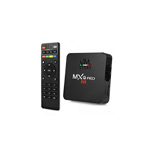 TV Box Android 9.0 4 K Full HD 1080P 4 GB 32 GB RAM Smart decodificador Wifi MXQ