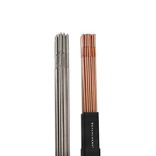 STAHLWERK WIG Schweißstäbe Stahl/Edelstahl/Ø 1,6 mm x 500 mm/je 1 kg