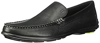 Bostonian Men s Grafton Driving Style Loafer Black Leather 070 M US