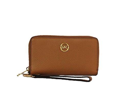 Michael Kors Damen Geldbörse Brieftasche - 35H5GFTE3L - Acorn Braun