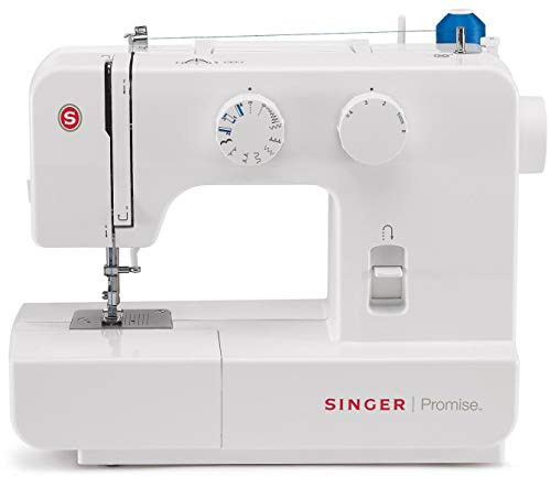 Singer Promise 1409 - Máquina de coser mecánica, 9 puntadas, 120 V,...