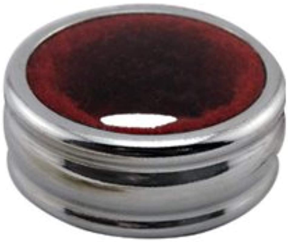 WINE BOTTLE DRIP COLLAR CLASSY STAINLESS STEEL DRIP RING WITH RED FELT LINER