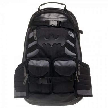Mochila Batman - Notebook, Escolar - Original