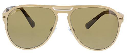 Bulgari 0Bv5043Tk 203983 57 Gafas de sol, Dorado (Polarbrown), Hombre