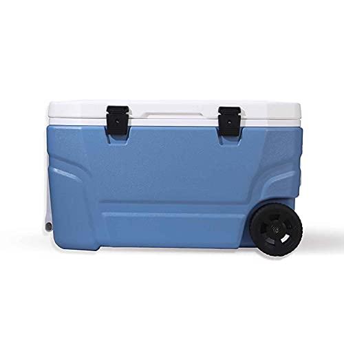 LYYAN 65/100L Nevera Portatil,Performance Nevera Rígida Unisex Adulto Grande Cooler Cool Box para Camping Playay Picnic