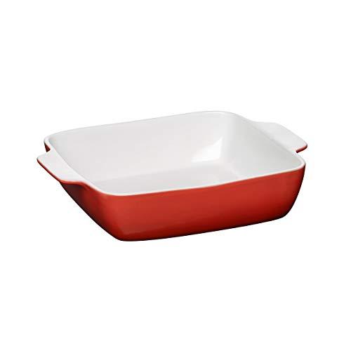 Premier Housewares OvenLove Plat de Cuisson, 2.5 l, Rouge