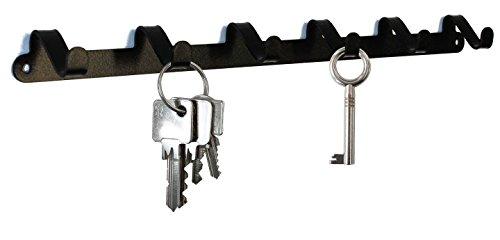 Schlüsselbrett / Hakenleiste * WUM * - Design Schlüsselboard, Schlüsselleiste, Schmuckhalter, Metall - 6 Haken - cool
