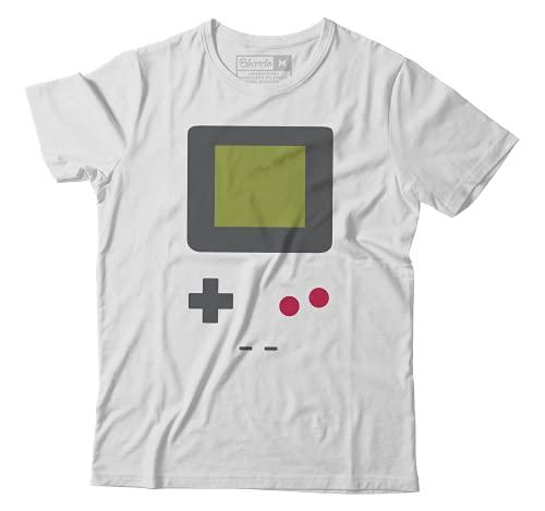 Camiseta Game Boy Gameboy Nintendo Mario Pokemon Zelda Camisa Games (PP)