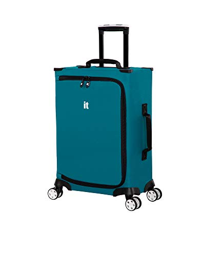 it luggage MaXpace Softside Spinner Wheel, Teal Sea, Carry-On 22-Inch