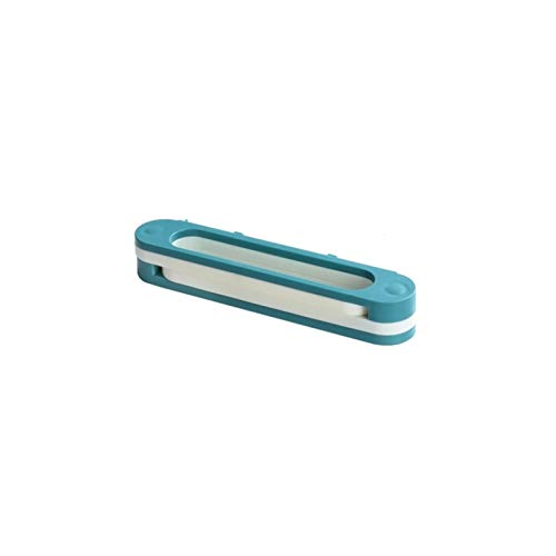 xilinshop Zapatero Estante Plegable de Pared sin Perforado de baño para Zapatillas de Almacenamiento Grueso y Duradero Estante de Almacenamiento de Zapatos (Color : Blue)