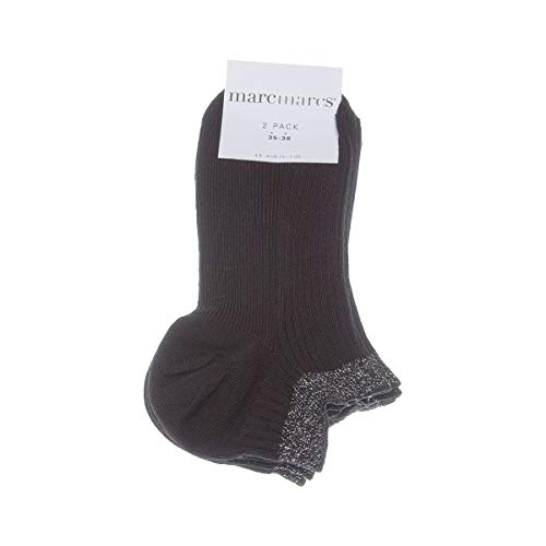Marcmarcs Socke unsichtbare - 2 pack - Funkeln - Fine - Coton - Noir - Moscow cotton 2-pack - 35/38