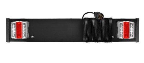 Rampe Eclairage LED signalisation Remorque Anti Brouillard 10m cable - 80cm