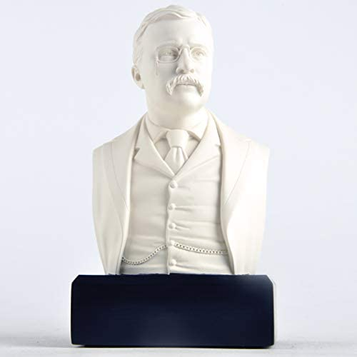 JFSM INC President Theodore Roosevelt Historical Bust Collectible Memorabilia Great Americans product image