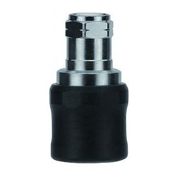 Nickel Plated Brass AIGNEP USA 80195-06 3//8 Multi-Socket Universal Coupler x 3//8 Female NPTF Thread