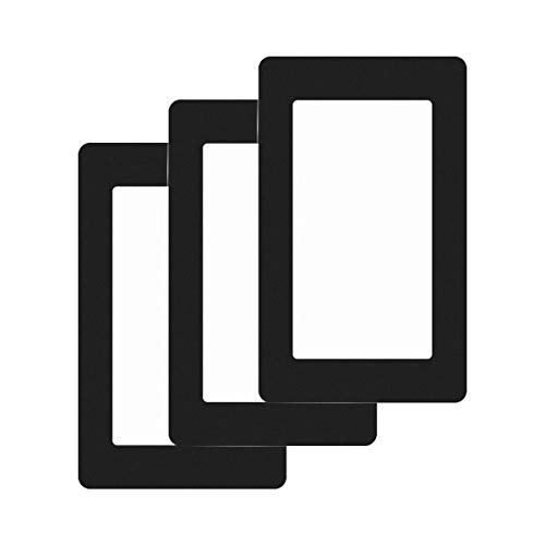 Toaiot Stick On Gasket for 3D Resin Printers - 5.5 inch Screens - Universal Protection from Resin Spill/Internal/LCD/FEP Film - Resin Resistant - Portable Protection - 4.1 inch W x 6.5inch L - 3Pcs