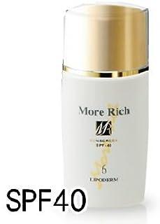 More Rich モアリッチ UVプロテクト&ベース SPF40 45ml