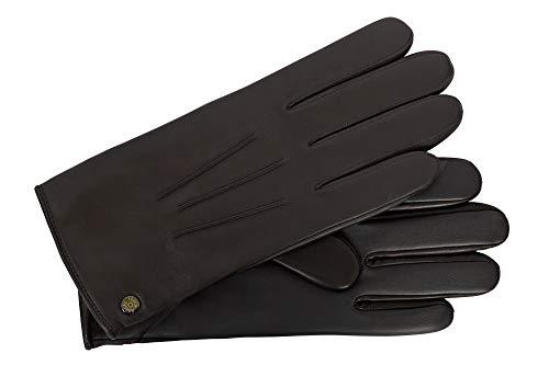 Roeckl Classic Wool Touch Lederhandschuhe - Schwarz (0) - 24,5 cm (9)