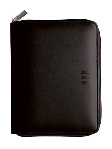 Finocam – 2022 1 Day Page Diary, January 2022 to December 2022 (12 months) 500 – 117 x 181 mm Open Zip Organiser Black Pol Catalan