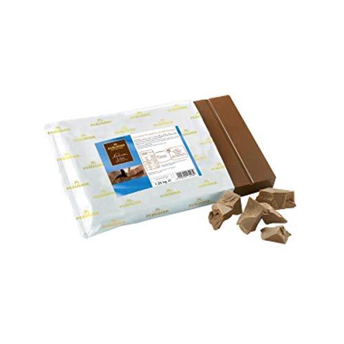 PERUGINA 1,25 kg, melkchocolade, 38-40% afwerking, voor ijs en gebak.