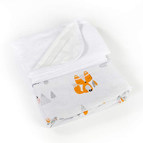 Lot de 2 draps-housse+1 alèse 100% coton oeko-tex pour berceau cododo Next2me, Lullago, Safety 1st (Indiens)