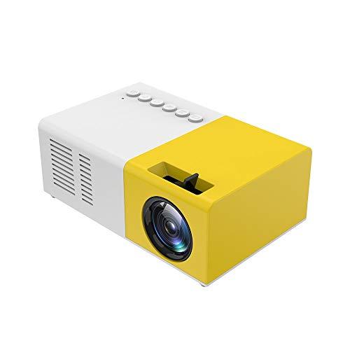 Mini proyector J9 Compatible con Video 1080P con M2 Mirascreen Pantalla inalámbrica Espejo Pantalla TV Stick Proyector de Cine en casa